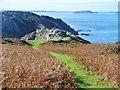 WV4575 : Sark - Gouliot Headland by Colin Smith