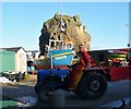 WV4775 : Creux Harbour - Tractor by Colin Smith